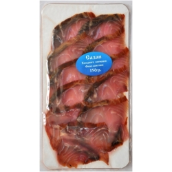 Сазан холодного копчения филе-ломтики 150 гр