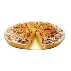 """Пирог """"Яблочный с овсяными хлопьями"""" (постный десерт), (12 порций)"""