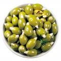 """Оливки """"ГРЕКО"""" фаршированные миндалем (71-90) маринад (сух/вес 0,55 кг)"""
