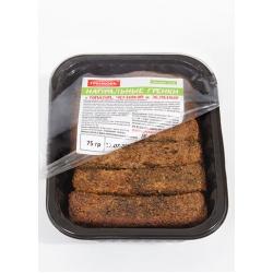 Гренки ржано-пшеничные с томатом, чесноком и зеленью, 75 гр.